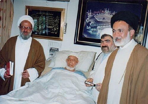 Ulama Syi'ah Mengunjungi Syeikh Ahmad Deedat Di Rumah Sakit