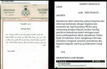 Terjemah bocoran surat Kementerian Luar Negeri Saudi ke Kedubes Saudi di Jakarta yang sebut Said Agil Siraj